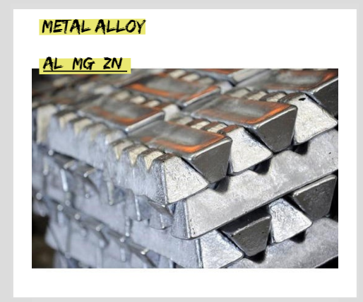 What alloy is used for die casting?