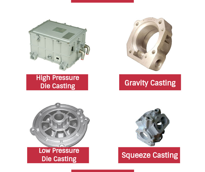 What are the Types of Die Casting and the Differences between Them?