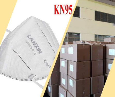 KN95 Face Mask Stock Available for Export