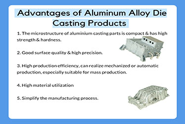 Advantages of aluminum alloy die casting products