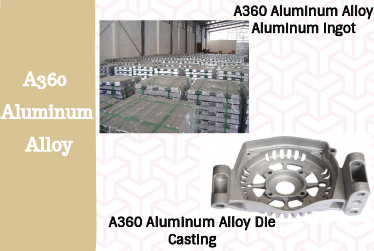 Specification and Application of Die-Casting Aluminum Alloy A360