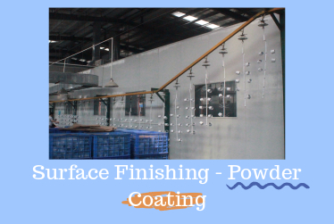 3 Suggestions of Powder Coating of Aluminum Die Castings